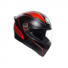 шлем AGV K1 - MATT BLACK/RED